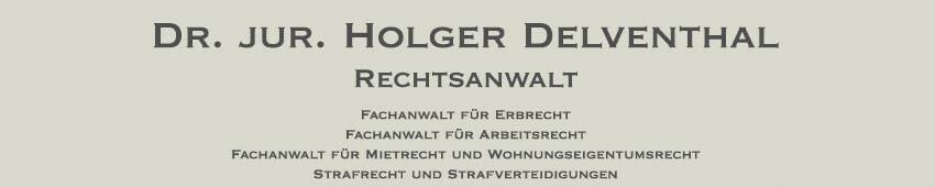 Rechtsanwalt Hamburg Altona Dr Jur Holger Delventhal