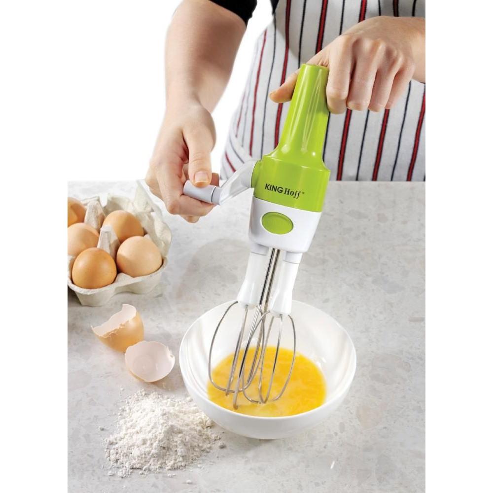 Rührgerät Küche handrührgerät edelstahl handmixer ohne strom rührgerät küche drehgriff ebay