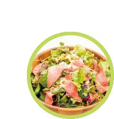 仙台牛ローストビーフサラダ