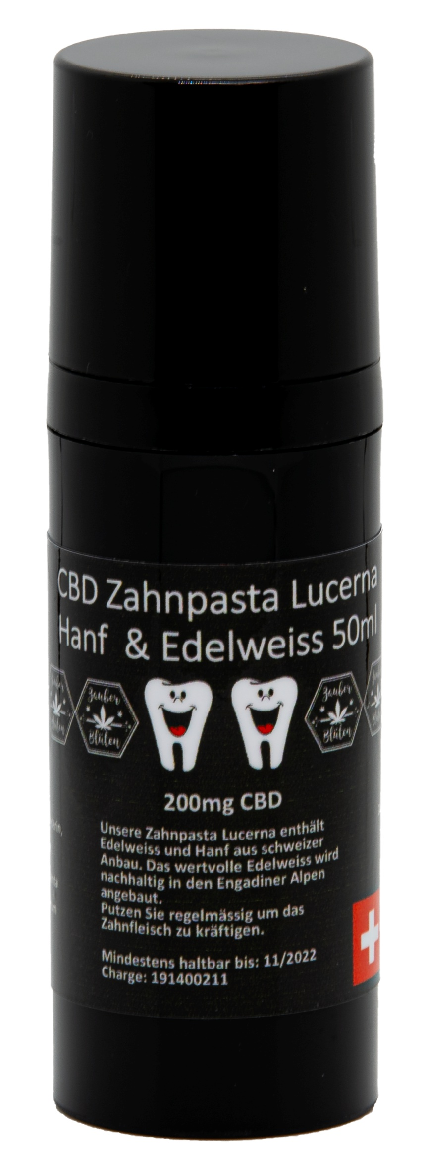 CBD-Zahnpasta Lucerna