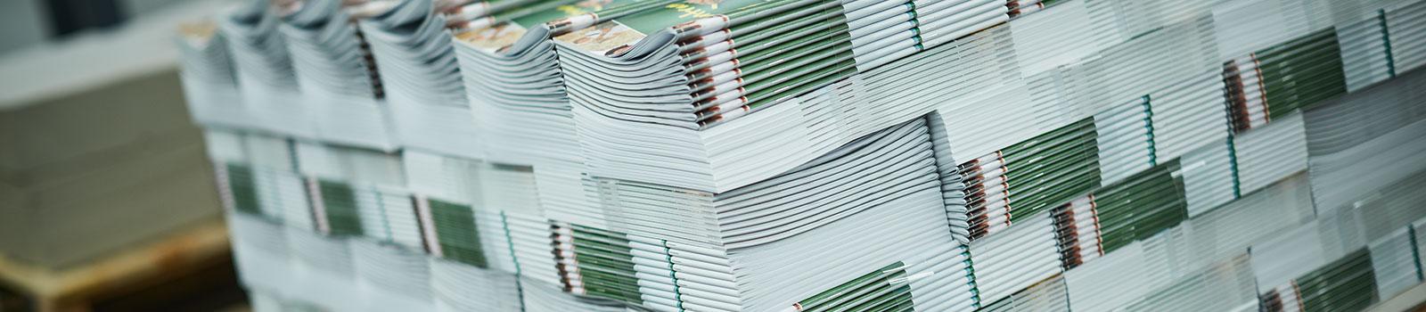 Druck-Produkte der Druckerei Satzdruck aus Coesfeld (NRW)
