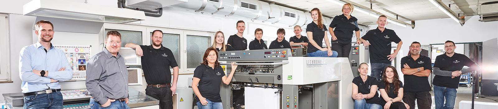 Die regionale Druckerei im Münsterland - Satzdruck GmbH aus Coesfeld