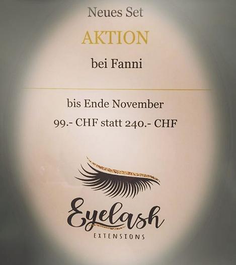 Spezialangebot Wimpernverlängerung Zürich