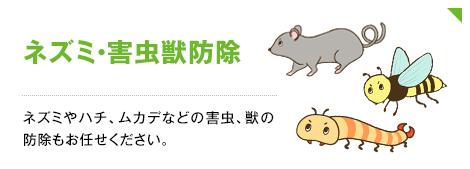 ネズミ・害虫獣防除