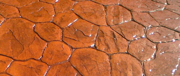 Moldes y colores pavimentos de hormigon impreso for Hormigon impreso caceres