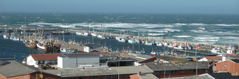 Hafen von Klitmöller