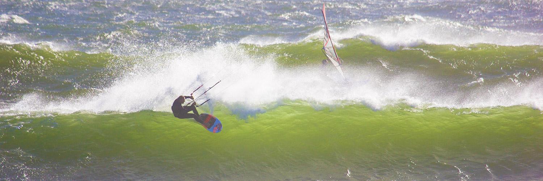 wavekiten in Südafrika Haakgat