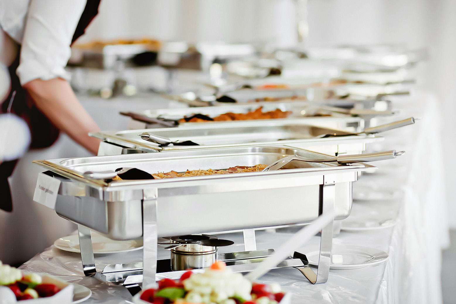 Klassisches Buffet