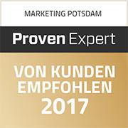Werbeagentur MAPO-Marketing Potsdam, Auszeichnung von Kunden empfohlen 2018