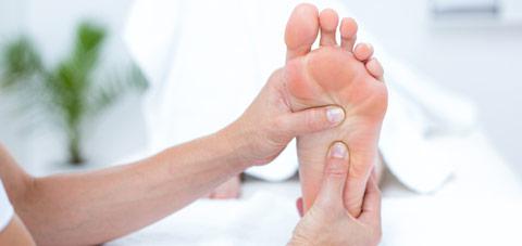 Fußtherapie
