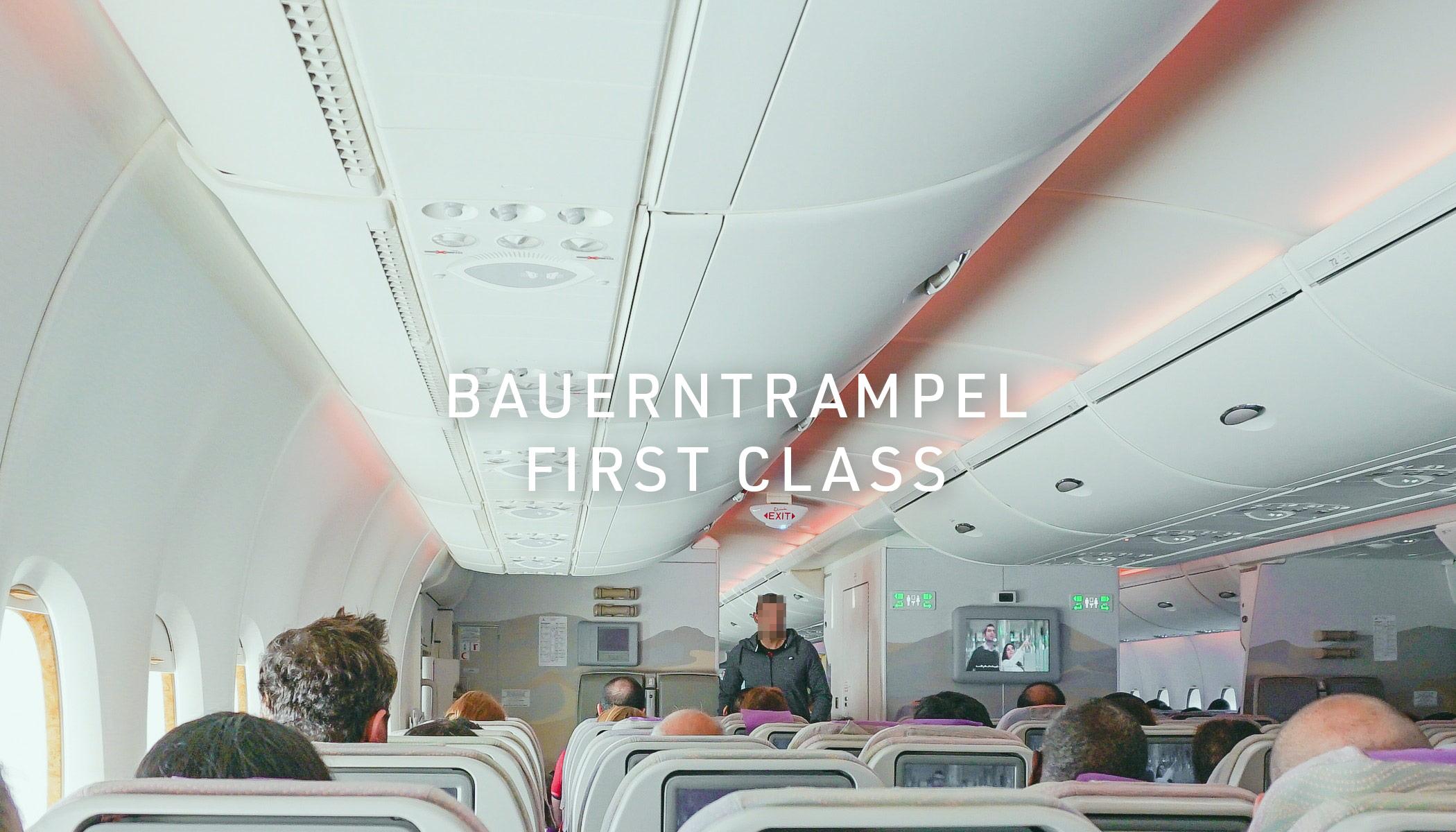 Reklamation Bauerntrampel First Class