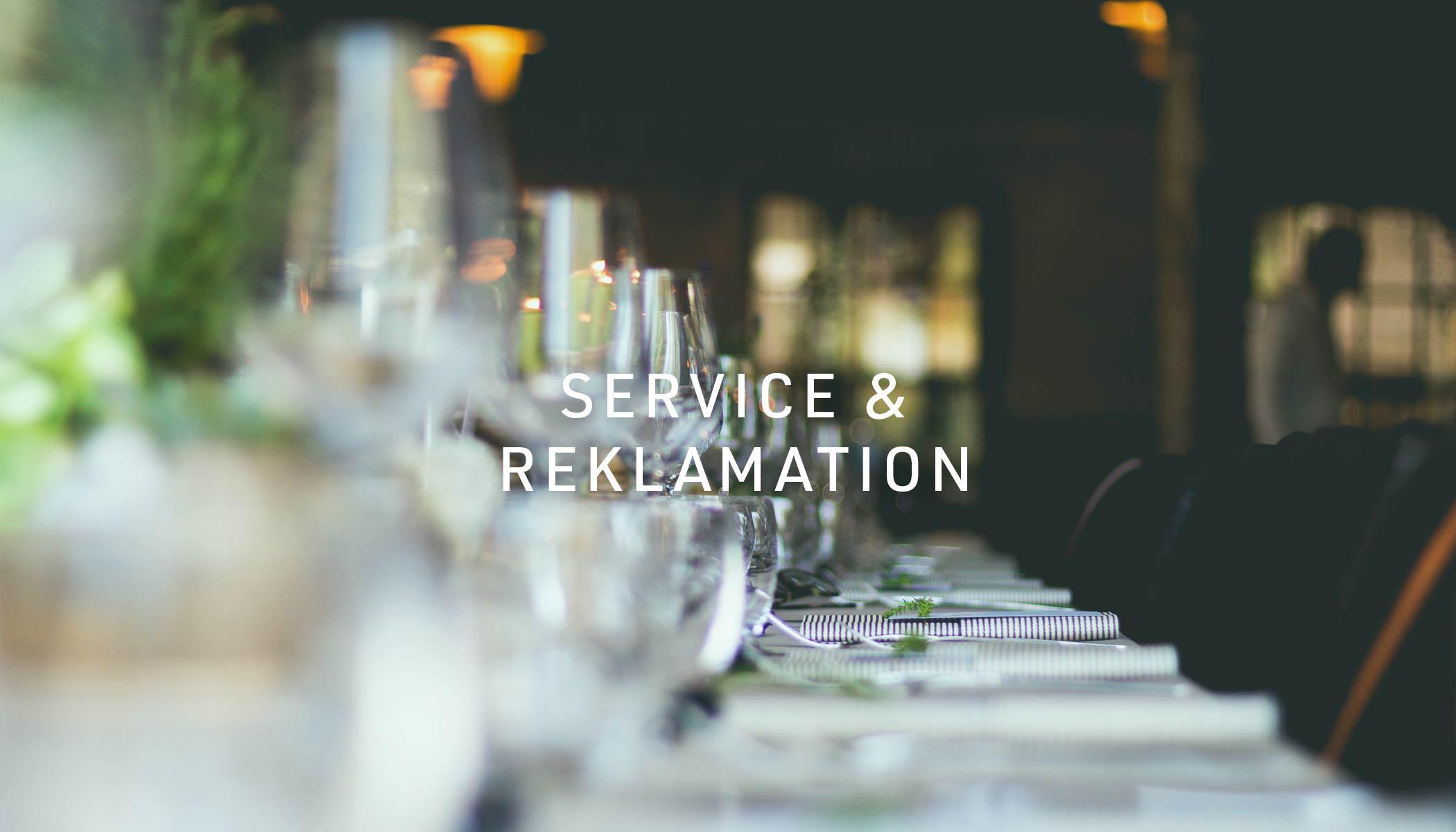 Service und Reklamation - wo beginnt der Service und wo hört der Spaß auf?