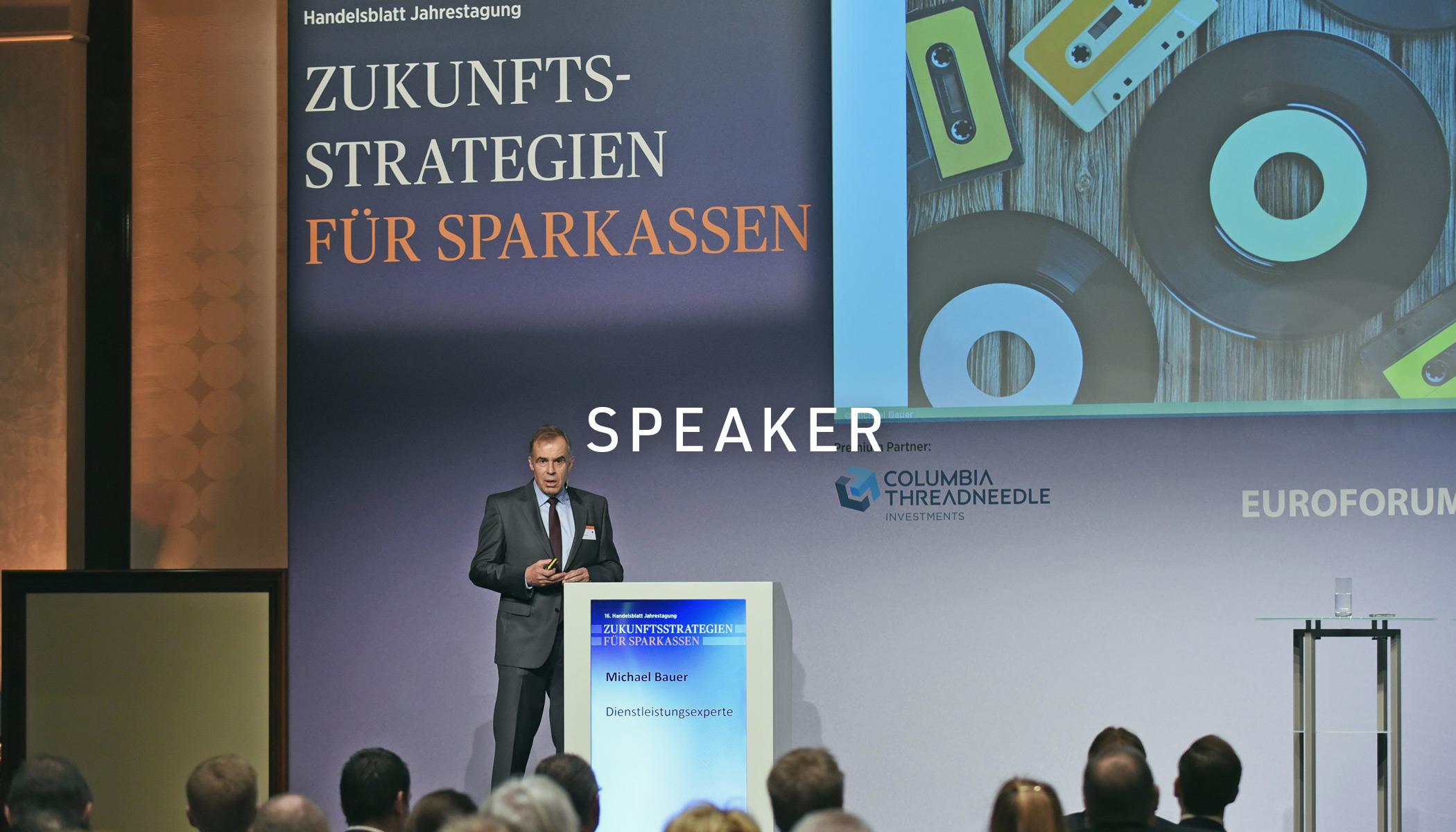 Keynote-Speaker, Redner Servicequalität