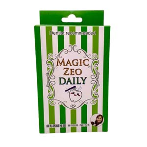 W消臭・W除菌で強力に歯の汚れを除去、ペット用歯磨き マジックゼオ・デイリー