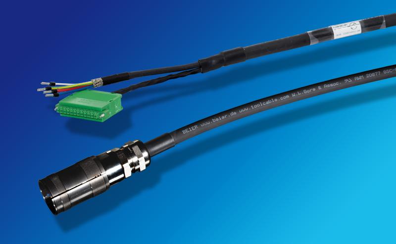 Hier gelangen Sie zur Produktseite für BEIER™ High Performance Ersatzkabel für DESOUTTER EM Motorkabel MODCVI Spindel.