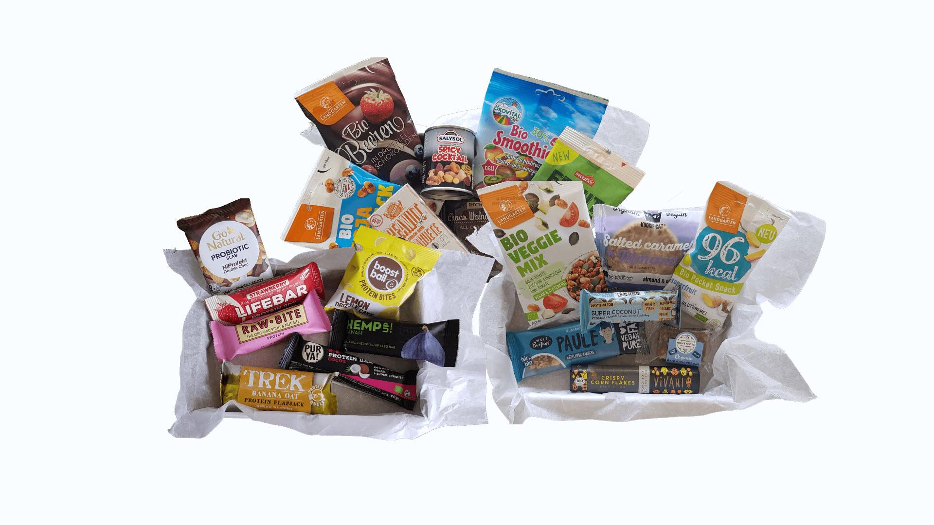 Snackbox King's Food, Normal, Protein, Vegan
