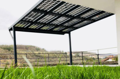 Solarterrassenüberdachung