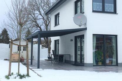 Aluminium Terrassendach im Allgäu
