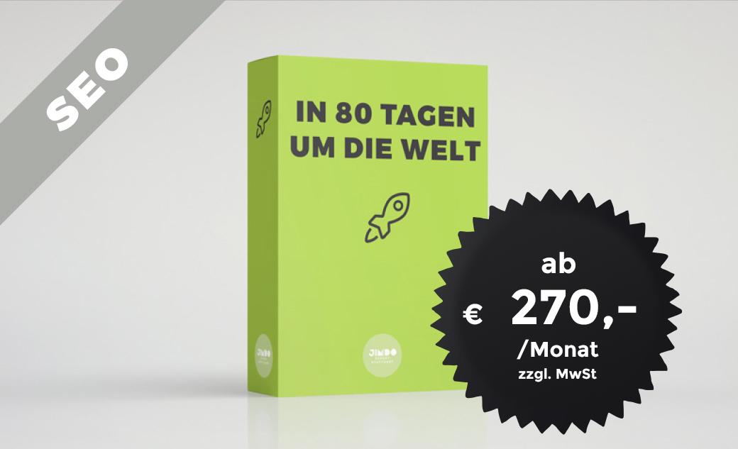 SEO Paket In 80 Tagen um die Welt