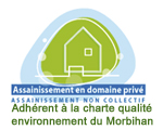 charte assainissement Morbihan 56