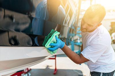 Bootspflegemittel und Boots Reiniger