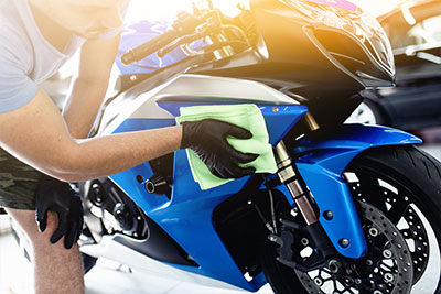 Hochwertige Motorrad Pflegemittel