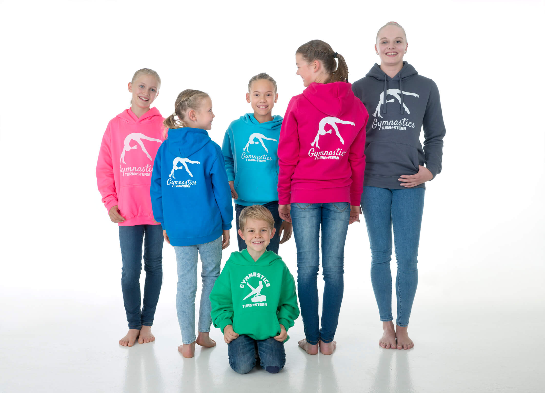 Gymnastics Hoodies by Turnstern