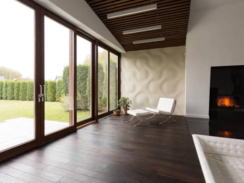 Elektro-Fußbodenheizung mit Laminat