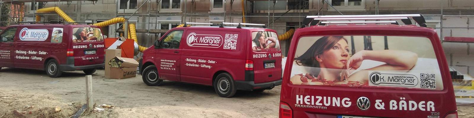 Firmenwagen Flotte Haustechnik Morgner