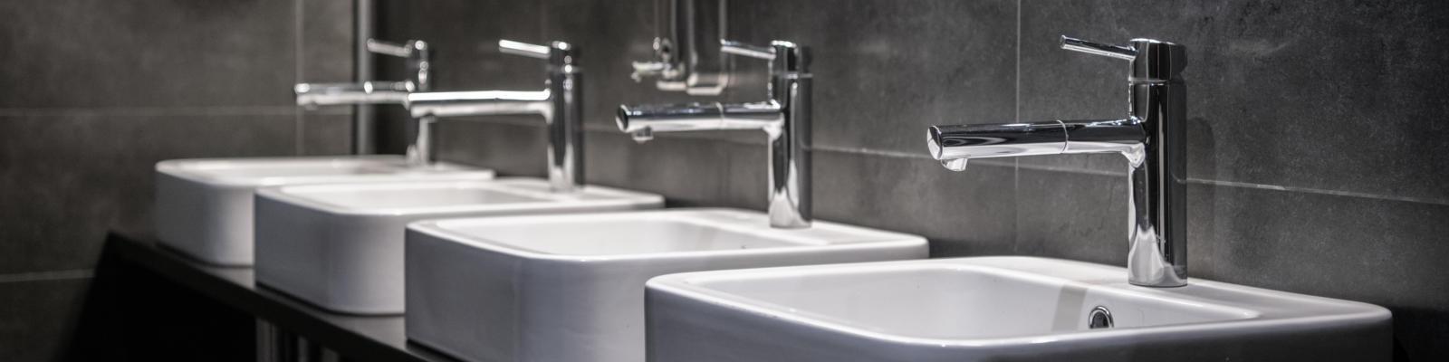Gewerbeliche Sanitäranlage