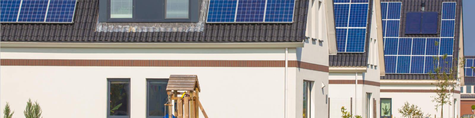 Solaranlagen auf Dächern
