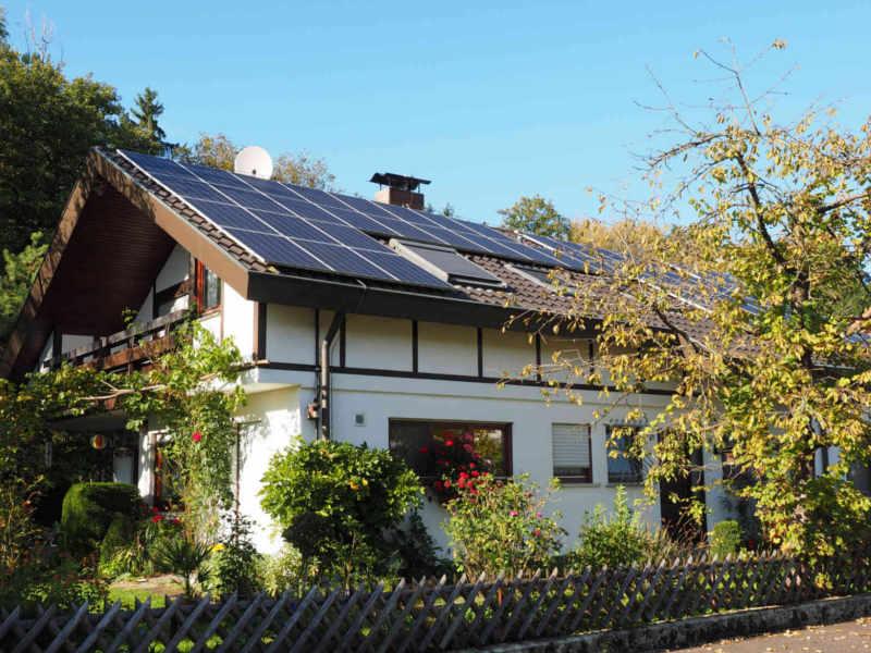 Wärmegewinnung dank Solarthermie/Solaranlage