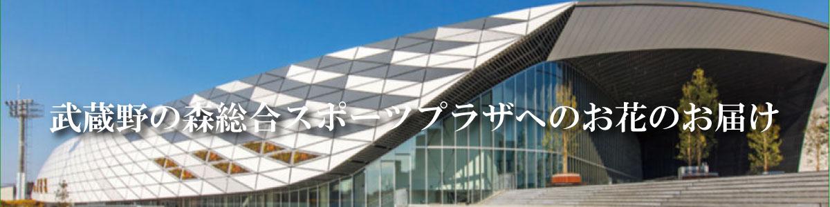 武蔵野の森総合スポーツプラザへのお届け