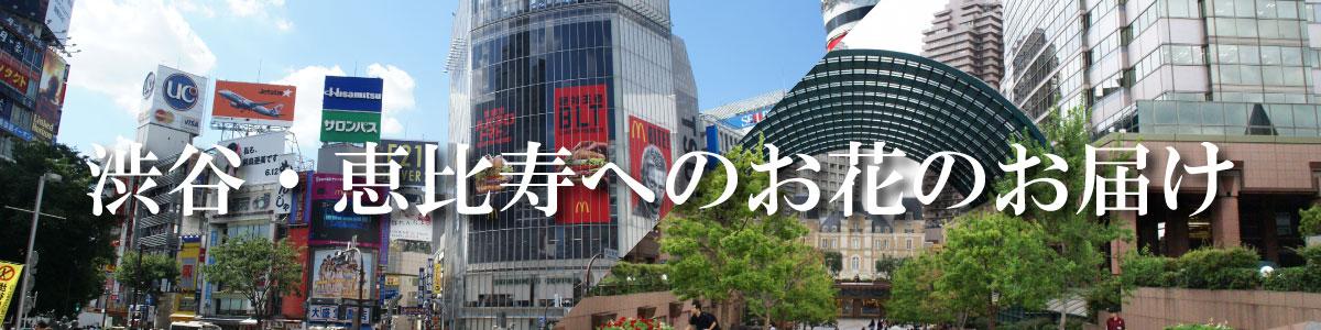 渋谷・恵比寿へのお届け