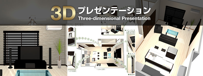 3Dプレゼンテーション