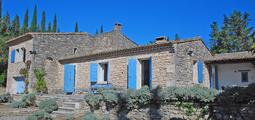 das mas buena vista my provence house landhaus in st r my nahe avignon. Black Bedroom Furniture Sets. Home Design Ideas
