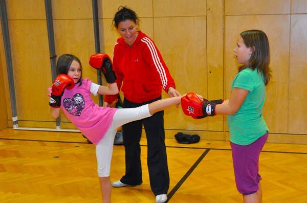 Kickboxen Einzeltraining