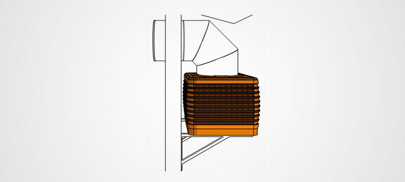 Kühlwürfel - Bauform 2