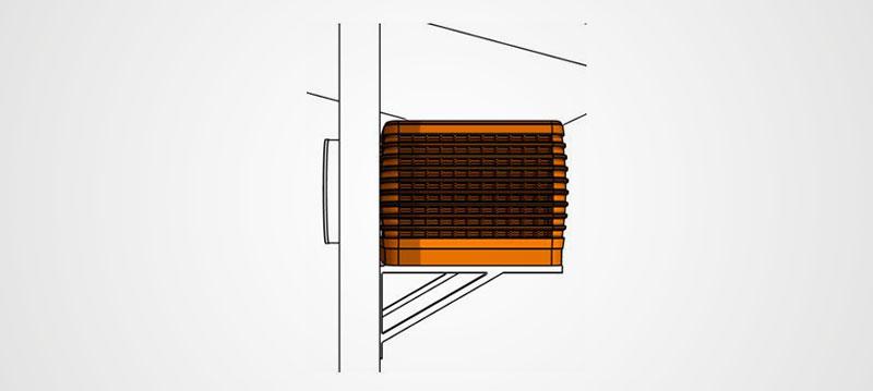 Kühlwürfe - Bauform 3