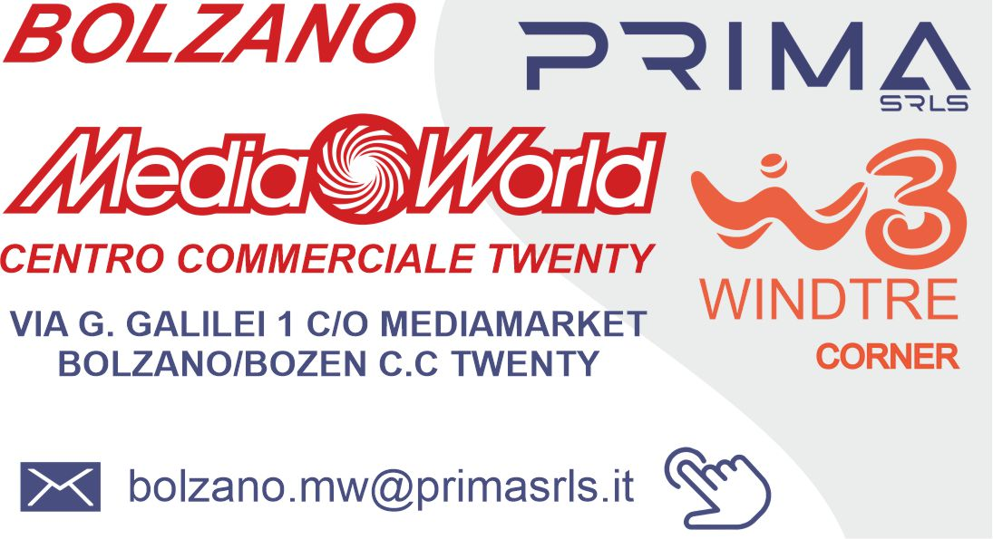 PRIMA srls_corner windtre_all'interno media world