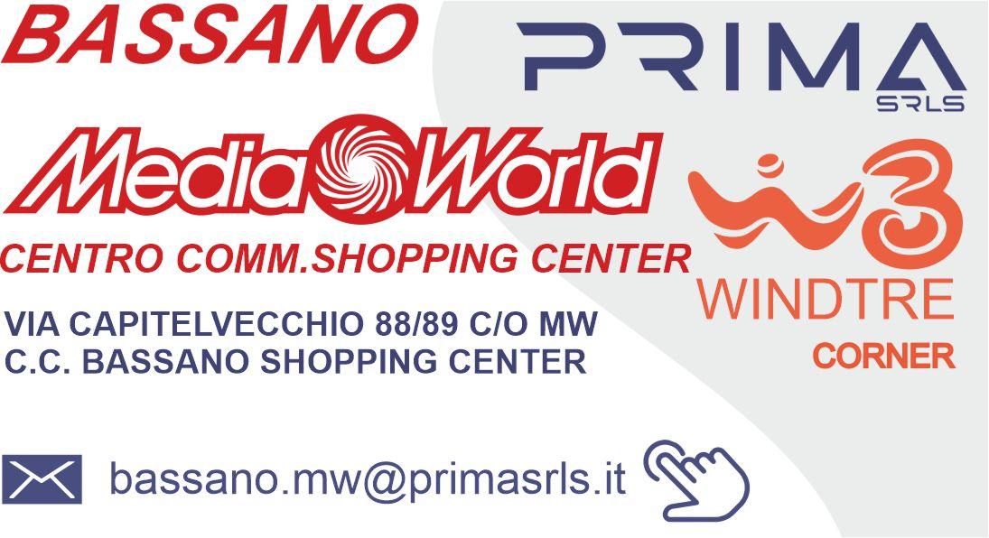 PRIMA srls_corner windtre_all'interno media world_bassano
