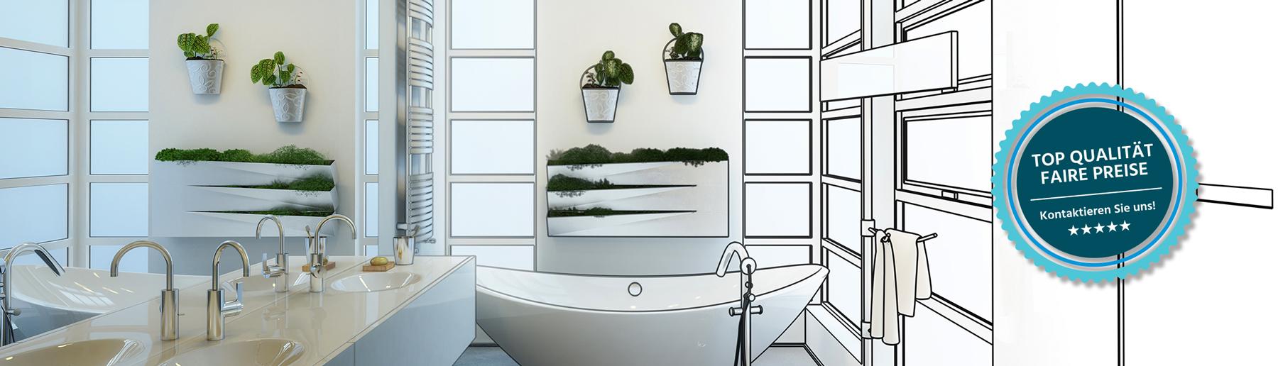 Badezimmer renovieren mit Lutz Simon Bauunternehmung und Generalunternehmung Küsnacht/Zürich