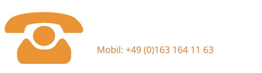 Mobil: +49 (0)163 164 11 63