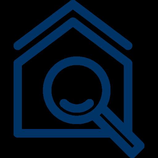 Blaue Boxen Lagerraum Alternative