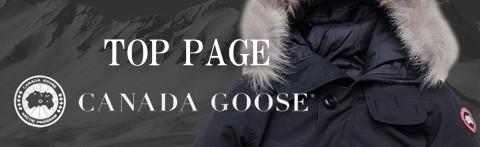CANADA GOOSE/カナダグースのトップページ