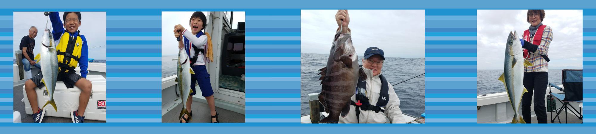 初心者からベテランまで楽しめる釣り船晴海丸です