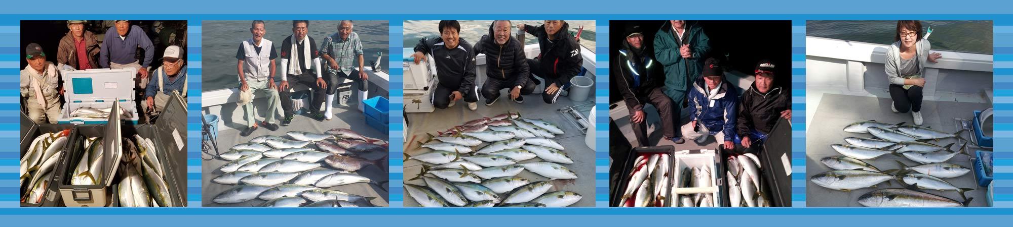 晴海丸は玄達瀬から三国沖で大物釣り