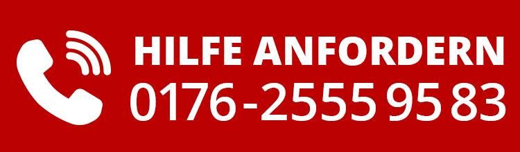 Jetzt Hilfe anfordern: 0176-2555 95 83