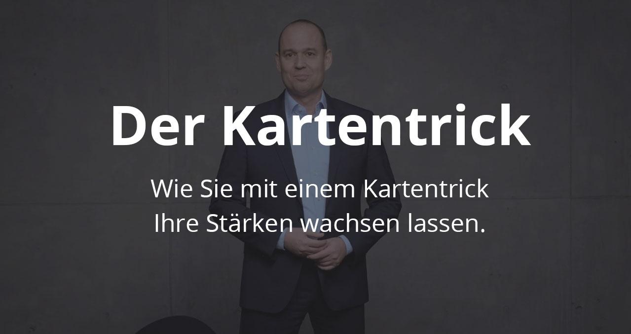 Video: Der Kartentrick - von und mit Stärkentrainer Frank Rebmann