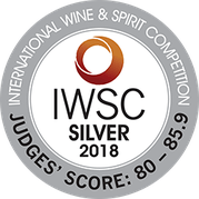 IWSC SILVER 2018 INTERNATIONAL WINE & SPIRIT COMPETITION